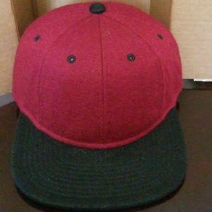 Gents Red Baseball Cap. NWT